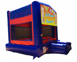 First Communion Red/Blue/Yellow Bounce House