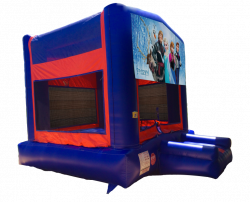 Frozen Red/Blue/Yellow Bounce House