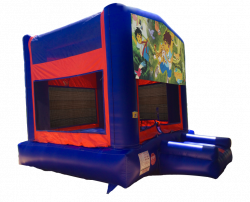 Go Diego Go Red/Blue/Yellow Bounce House
