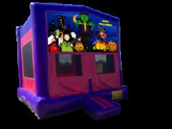 Halloween Pink/Purple Bounce House