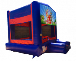Happy Easter Red/Blue/Yellow Bounce House
