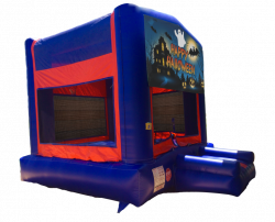 Happy Halloween Red/Blue/Yellow Bounce House
