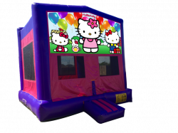 Hello Kitty Pink/Purple Bounce House