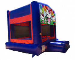 Hello Kitty Red/Blue/Yellow Bounce House