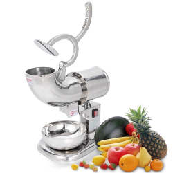 Stainless Ice Shaver Sno Cone Machine