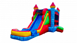 Blue Stone Super Slide Wet OR Dry 5 IN 1 Bounce