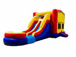 DOUBLE DRY OR WATER SLIDE BOUNCE COMBO 100+ THEMES