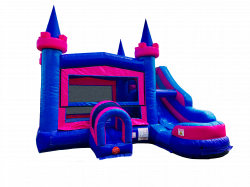 PINK / PURPLE SIDE WATERSLIDE COMBO