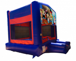 Jake and the Never Land Pirates Red/Blue/Yellow Bounce House