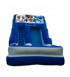 Justice League 16'Wet Or Dry Slide