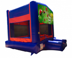 Lady Bug Red/Blue/Yellow Bounce House