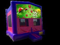 Lady Bug Pink/Purple Bounce House