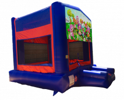 Lalaloopsy Red/Blue/Yellow Bounce House