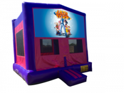 Lazy Town Pink/Purple Bounce House