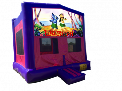 Lilo & Stitch Pink/Purple Bounce House