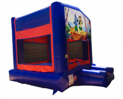 Lilo & Stitch Red/Blue/Yellow Bounce House