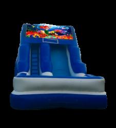 The Little Mermaid 16'Wet OR Dry Slide
