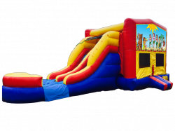 Luau Party RBY Double Lane Wet Or Dry Combo