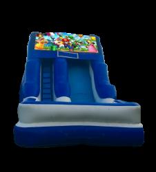 Super Mario 16'Wet OR Dry Slide