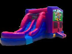 Mickey & Gang PPB Double lane Wet OR Dry Slide Combo