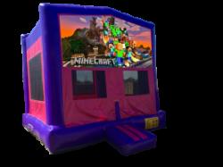 Minecraft Pink/Purple Bounce House