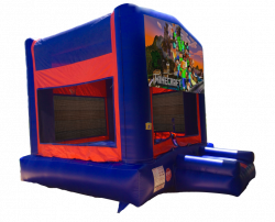 Minecraft Red/Blue/Yellow Bounce House