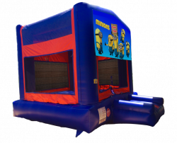 Minions Red/Blue/Yellow Bounce House