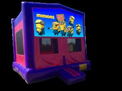 Minions Pink/Purple Bounce House