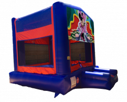 Minnie Mouse Red/Blue/Yellow Bounce House