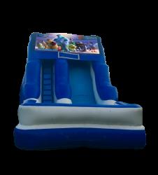 Monsters Inc. 16'Wet OR Dry Slide
