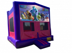 Monsters Inc. Pink/Purple Bounce House