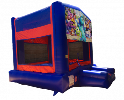 Monsters University Red/Blue/Yellow Bounce House
