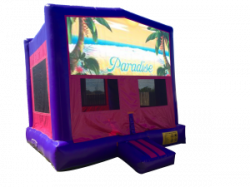 Paradise Pink/Purple Bounce House