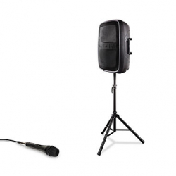 1 Speaker PA System w/ Microphone