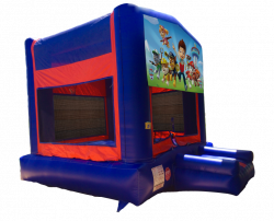 Paw Patrol Red/Blue/Yellow Bounce House