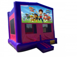 Paw Patrol Pink/Purple Bounce House