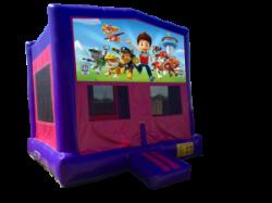 Paw Patrol Pink/Purple Bounce House