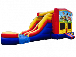 Paw Patrol RBY Double Lane Wet Or Dry Combo