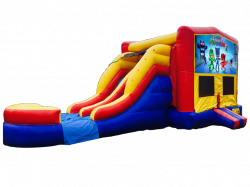 PJ Masks RBY Double Lane Wet Or Dry Combo