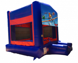 Planes Red/Blue/Yellow Bounce House