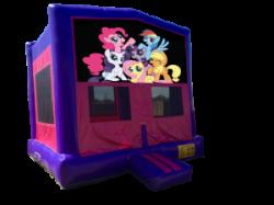 My Little Pony Pink/Purple Bounce House