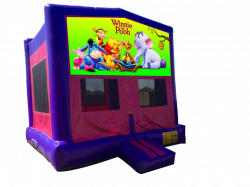 Winnie the Pooh Pink/Purple Bounce House
