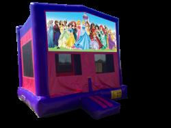 Disney Princesses Pink/Purple Bounce House