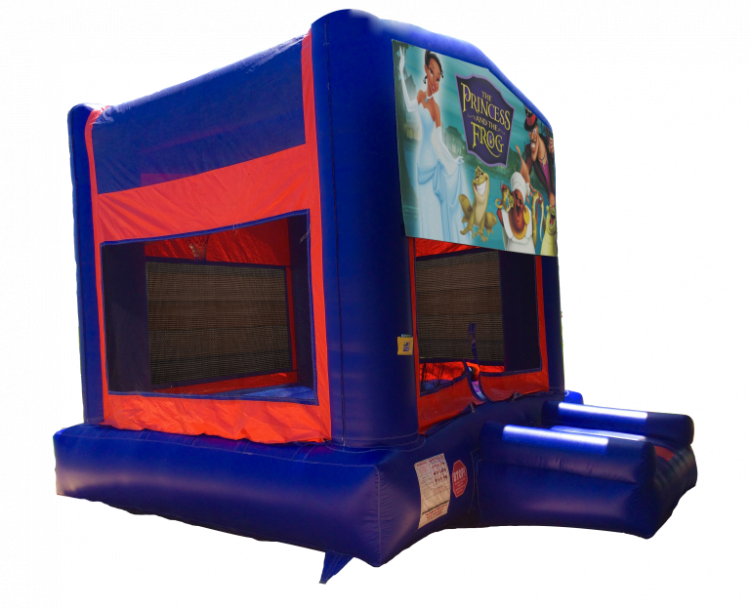 The Princess And The Frog Redblueyellow Bounce House Bounce
