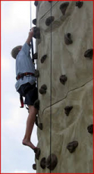 Rock Climbing Wall - Trailer Mounted