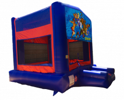 Scooby Doo Red/Blue/Yellow Bounce House
