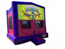 SkyLanders Swap Force Pink/Purple Bounce House
