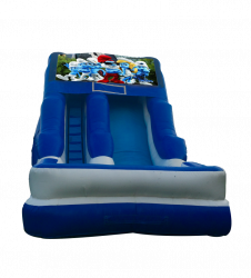 Smurfs 16'Wet OR Dry Slides