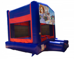Sofia The First Red/Blue/Yellow Bounce House