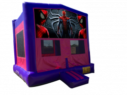 Spiderman Pink/Purple Bounce House
